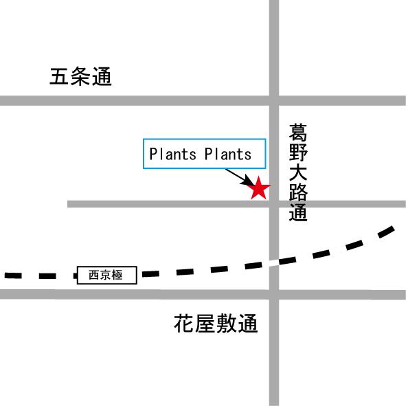 プランツプランツ(地図)